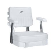 Wise Offshore Ladder Back Helm Chair w/ Mounting Plate