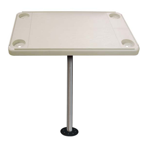 JIF Rectangular Table Kit w/ Surface Mount - Ivory