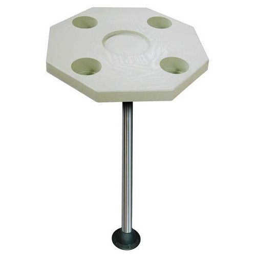 JIF Octagonal Table Kit W/ Surface Mount - Ivory