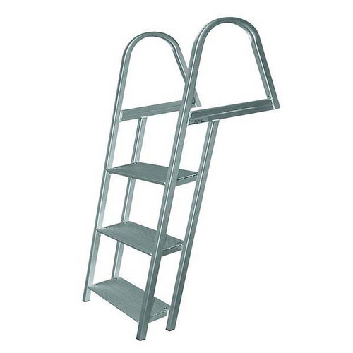 JIF Aluminum Dock Ladder w/ Mounting Hardware