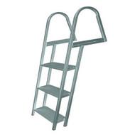 JIF Aluminum Dock Ladder w/ Mounting Hardware