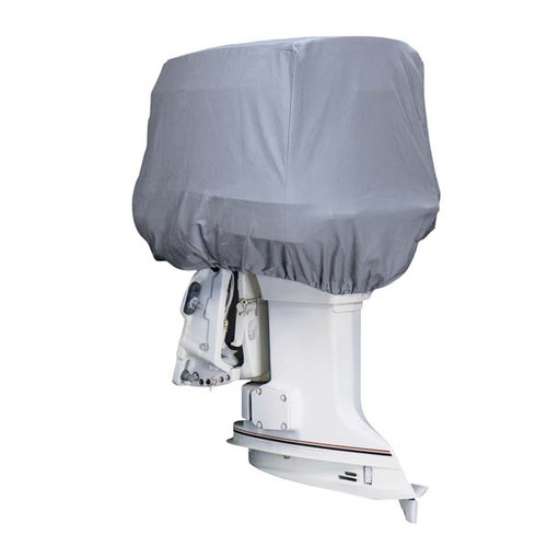 Outboard Motor Covers : Attwood heavy duty canvas outboard motor covers