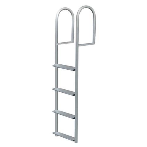 JIF Stationary Dock Ladder Aluminum