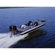 """Fish N Ski Dual Console Boat Cover - 17'5"""" to 18'4"""" Max 92"""" Beam"""