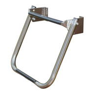 JIF Stainless Steel Compact Transom Ladder