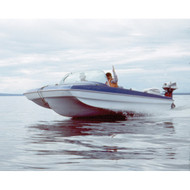 """Modified Tri-Hull Outboard 15'5"""" to 16'4"""" Max 82"""" Beam"""