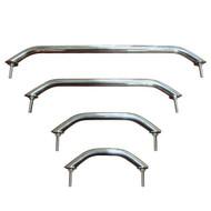 "JIF Stainless Steel Stud Mount Handrail 12"""