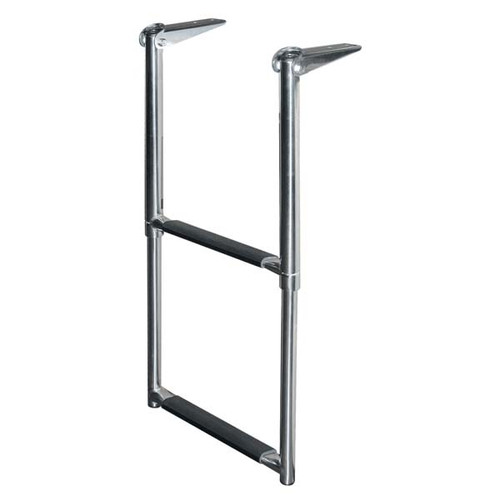 JIF Stainless Steel Telescoping Drop Ladder