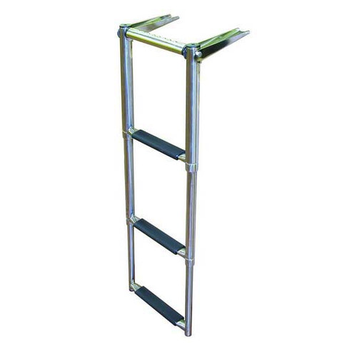 JIF Over Platform Telescoping Boat Ladder