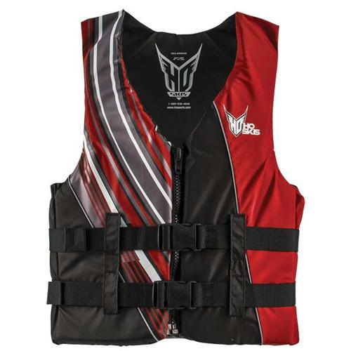 HO Sports Mens Infinite Life Vest Black/Red