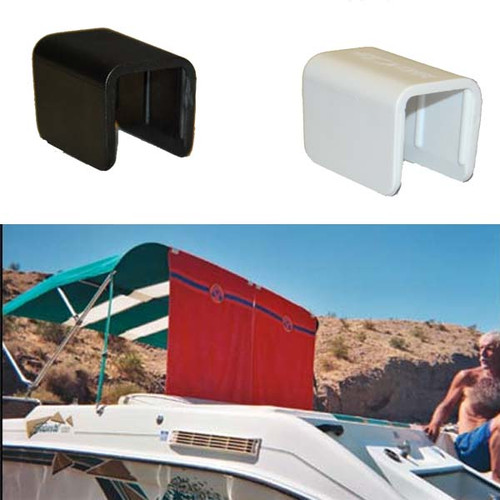 "Terricraft Creations Boat Bimini Clip 1"" Square (5 Pack) - Assorted Colors"