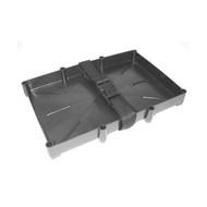 T&H Marine Battery Holder Tray With Strap