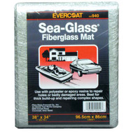 Sea-Glass 1.5oz Fiberglass Mat Non-Woven