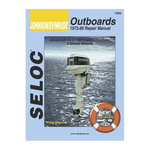 Seloc Service Manual, Johnson-Evinrude, 1971 - 1989