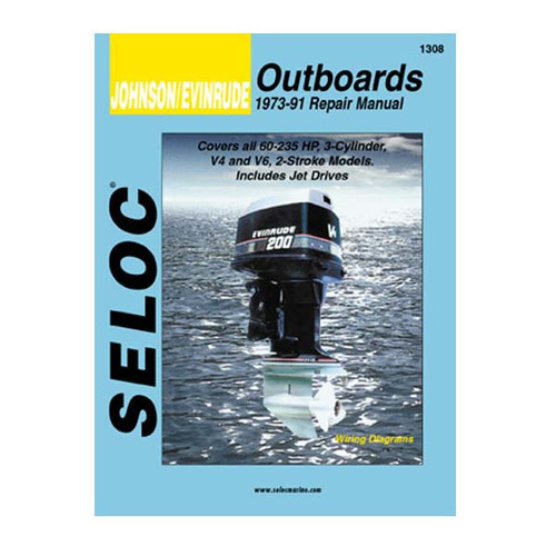 Seloc Service Manual, Johnson - Evinrude 1973 - 1991