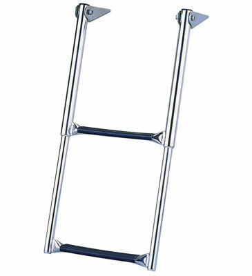 Garelick Telescoping Over Platform Ladder