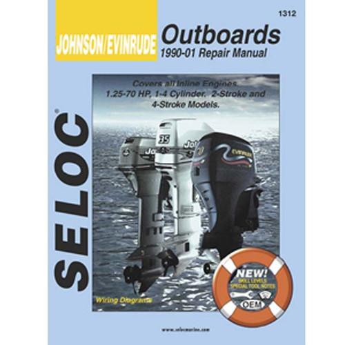 Seloc Service Manual, Johnson-Evinrude 1990 - 2001