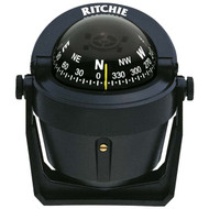 Ritchie B-51 Explorer Compass, Bracket Mount - Black