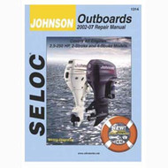 Seloc Service Manual, Johnson Outboards 2002-2007