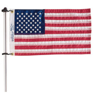 Taylor Made Flag Pole With Charlevoix Flag Clips