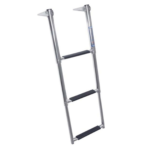 Windline Stainless Telescoping Over Platform Ladder