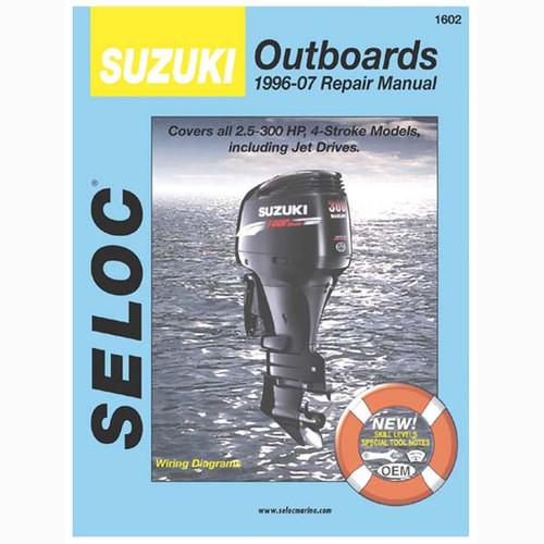 Seloc Service Manual, Suzuki Outboards 1996-2007