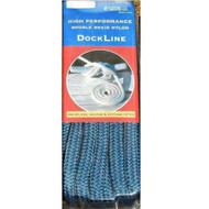 Custom Cordage Double Braid Dock Line - Royal Blue