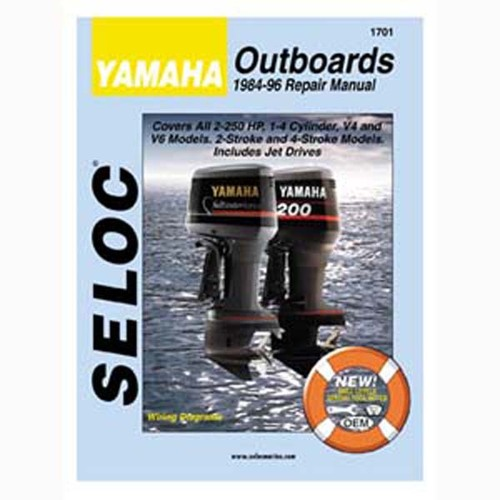 Seloc Service Manual, Yamaha Outboards 1984-1996