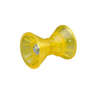 Poly Vinyl, Non-Marring Bow Roller Assembly 3""
