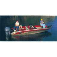 "Tournament Style Rounded Transom 13'5"" to 14'6"" Max 75"" Beam"