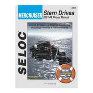 Seloc Service Manual, Mercruiser Sterndrive 2001 - 2008