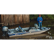 "Modified V-Hull Bass Boat 16'5"" to 17'4'' Max 85'' Beam"