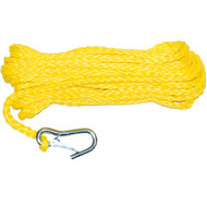 Aamstrand Anchor Line Hollow Braid Poly with Snap Hook