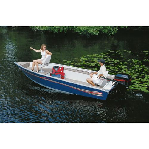 "V-Hull Tiller w/o Motor Hood 11'5"" to 12'4"" Max 69"" Beam"