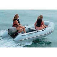 "Inflatable Boat Cover w/o Motor 11'5"" to 12'4"" Max 66"" Beam"