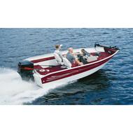 "Deep V-Hull Boat w/ Motor Hood 12'5"" to 13'4"" Max 72"" Beam"