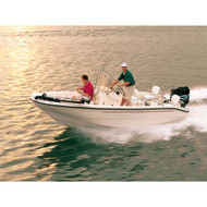 """Rounded Bow Bay Boat 21'6"""" to 22'5"""" Max 102"""" Beam"""