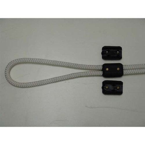 E-Z TY Double Rope Clamps - Black