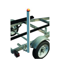 CE Smith Lighted Post Style Boat Trailer Guides
