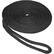 Aamstrand Double Braid Nylon Colored Dock Lines - Black