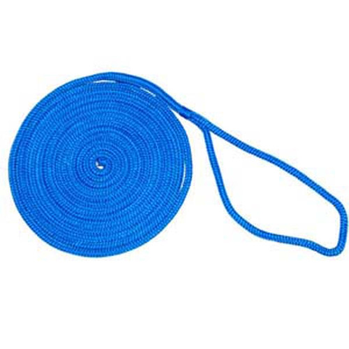 Aamstrand Double Braid Nylon Colored Dock Lines - Blue