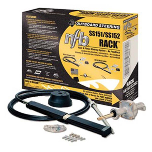 NFB Rack Outboard Steering Single Cable System