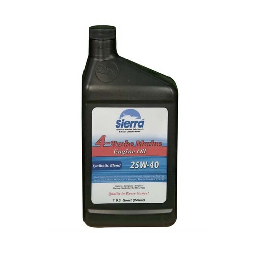 Sierra 25W-40 Synthetic Blend Engine Oil
