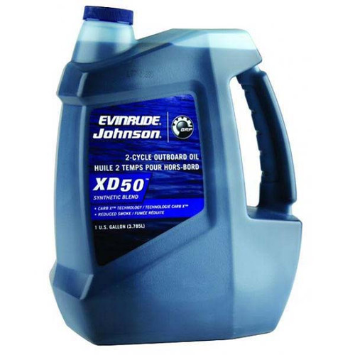 Johnson Evinrude XD50 2-Cycle Synthetic Blend Outboard Motor Oil