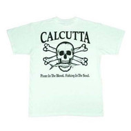 Calcutta Short Sleeve Tee, White with Origial Logo