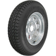 "Loadstar 205/75D15 5 Lug 15"" Bias Trailer Tire - Galvanized"