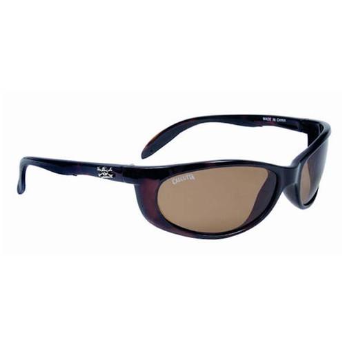 Calcutta Smoker Sunglasses - Tortoise Frame W/ Amber Lens