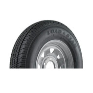 "Karrier 225/75D15 5 Lug 15"" Radial Trailer Tire - Galvanized"
