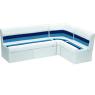 "Wise Boat Seats 55"" Bench Back Rail Group"