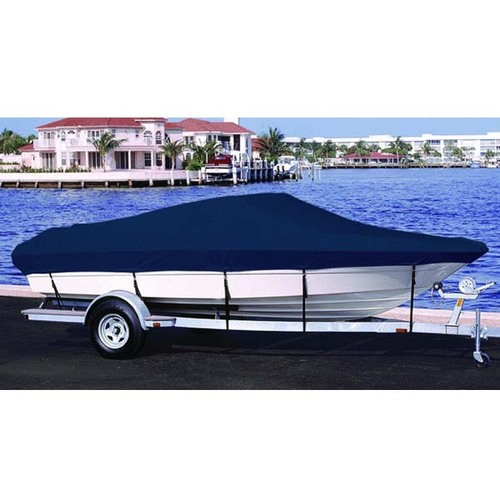 Klamath 18 Offshore Dual Console Outboard Boat Cover  1998 - 2001